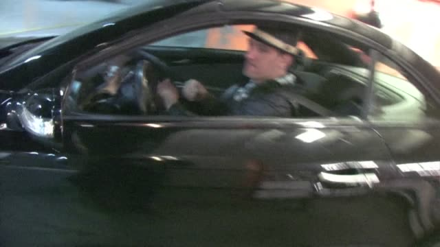 jc chasez leaving the roosevelt hotel in hollywood - jc chasez stock-videos und b-roll-filmmaterial