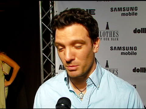 jc chasez on men and nudity what he does in the nude his current projects at the jane magazine's 'go naked' party at private residence in beverly... - jc chasez stock videos & royalty-free footage