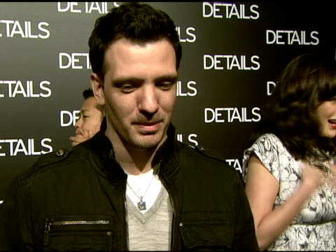 chasez on what a maverick is what mavericks he admires what he appreciates about 'details magazine' the magazine cover and why ryan seacrest is a... - jc chasez stock videos & royalty-free footage
