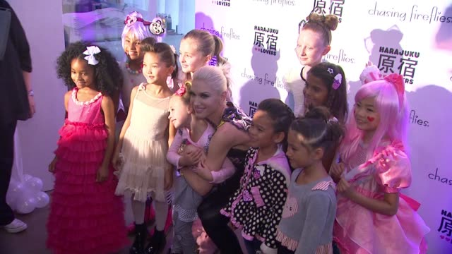 CLEAN Chasing Fireflies And Gwen Stefani Present Harajuku Lovers Fall 2015 Collection at Duff's Cakemix on September 24 2015 in West Hollywood...