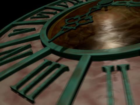 追跡時間 - 大時計点の映像素材/bロール