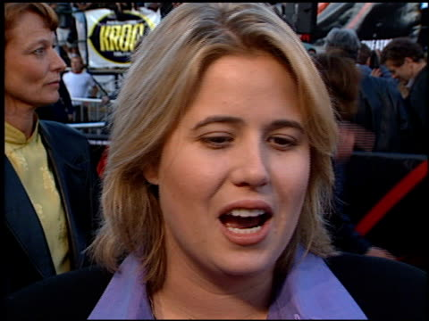 Chastity Bono at the Premiere of 'The X Files Fight the Future' on June 11 1998