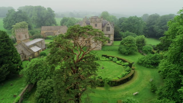 chastleton house, cotswolds, england - cotswolds stock videos & royalty-free footage