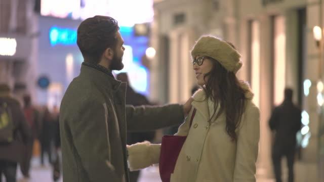 chat goodbye street - gossip stock videos & royalty-free footage