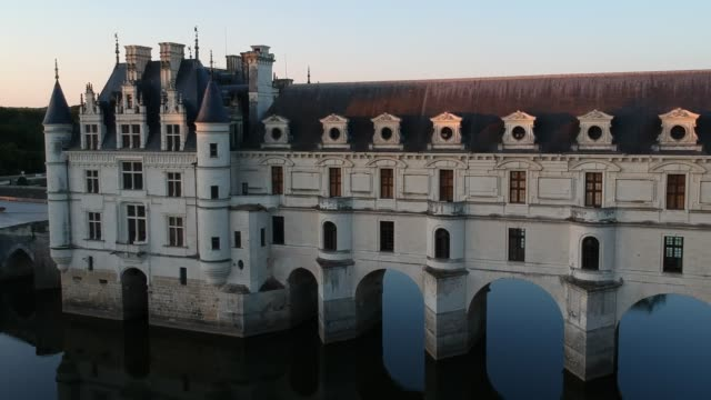 chateau de chenonceau - french culture stock videos & royalty-free footage