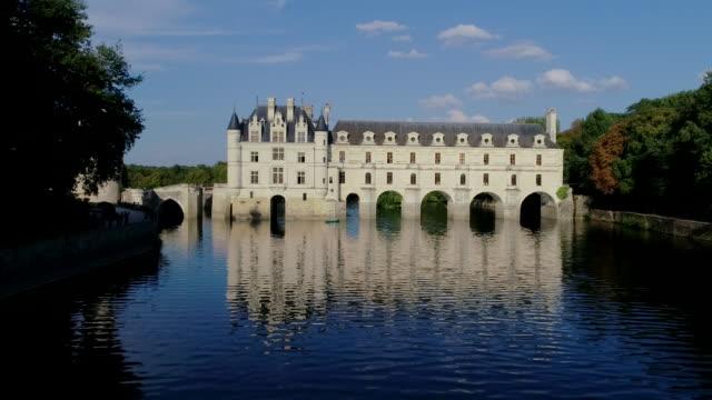 vidéos et rushes de chateau du chenonceau, loire valley, france - château