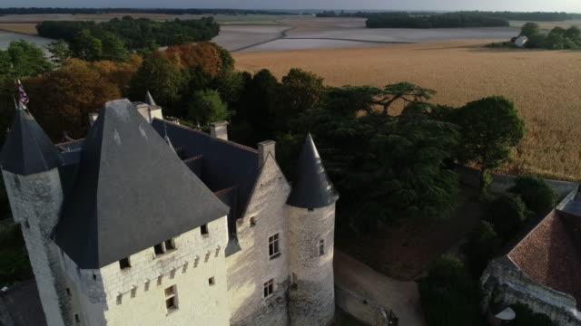 vídeos y material grabado en eventos de stock de chateau du rivau castle, loire valley, france - castillo estructura de edificio
