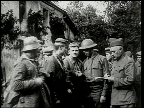 chateau thierry and the aisne-marne operation - 3 of 8 - prima guerra mondiale video stock e b–roll