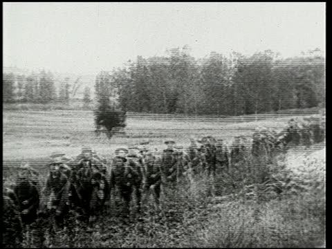 chateau thierry and the aisne-marne operation - 8 of 8 - prima guerra mondiale video stock e b–roll