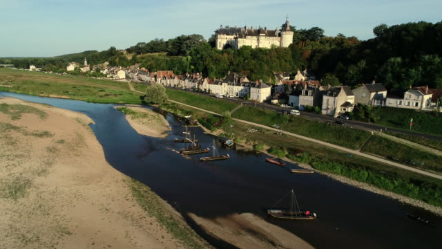 chaumont sur loire village, loire valley, france - french culture stock videos & royalty-free footage