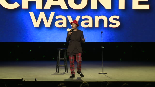 chaunté wayans at the wilshire ebell theatre on november 03, 2018 in los angeles, california. - wilshire ebell theatre stock videos & royalty-free footage