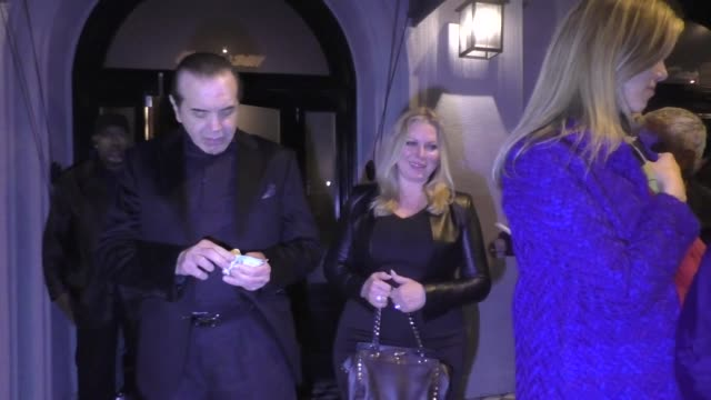 chazz palminteri and robert davi greet fans outside craig's in west hollywood at celebrity sightings in los angeles on march 15 2019 in los angeles... - robert davi stock videos and b-roll footage