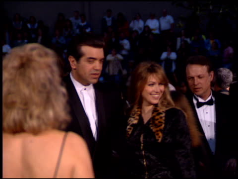 chazz palminteri at the 1995 screen actors guild sag awards at universal studios in universal city, california on february 25, 1995. - universal city video stock e b–roll
