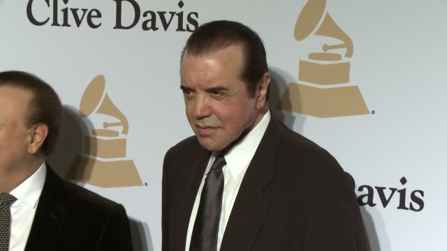 chazz palminteri at the pregrammy gala and salute to industry icons honoring martin bandier at the beverly hilton hotel on february 07 2015 in... - the beverly hilton hotel stock videos & royalty-free footage