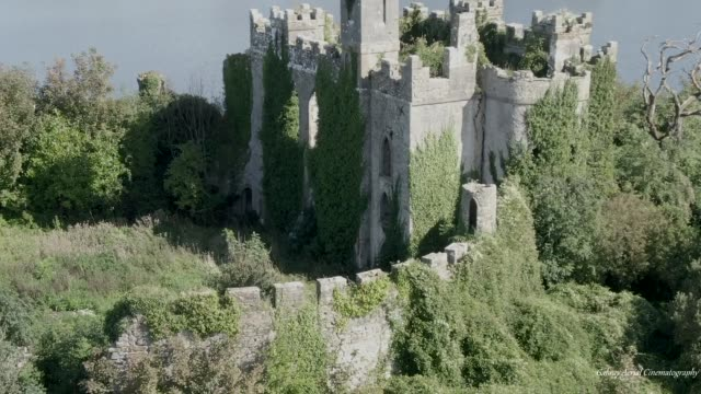 check out this amazing drone footage of mcdermott's castle in ireland. bucket list time for sure! - bucket list stock videos & royalty-free footage