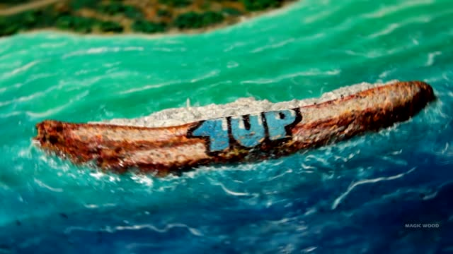 check out this awesome diy timelapse of '1up crew shipwreck' in resin on canvas 20 x 20 cm this greek landscape majestically captures the beautiful... - canvas stock videos & royalty-free footage
