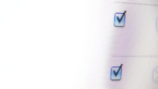 check - cursor stock videos & royalty-free footage