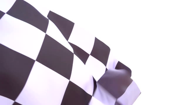 checkered flag high detail - motorcycle racing stock videos and b-roll footage