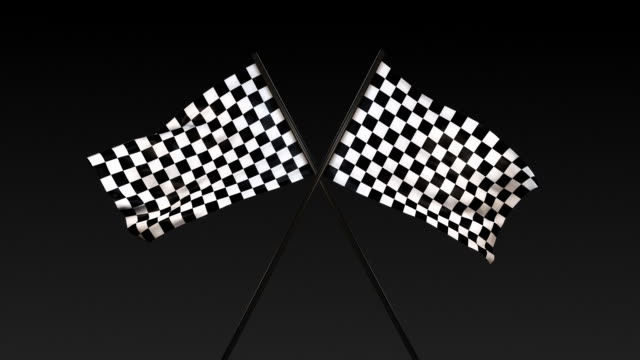 Checkered Flag Title Card (With Alpha)