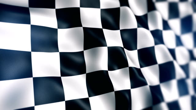 checkered flag - checked pattern stock videos & royalty-free footage