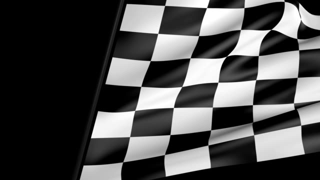 checkered flag wipe transition - flag stock videos & royalty-free footage