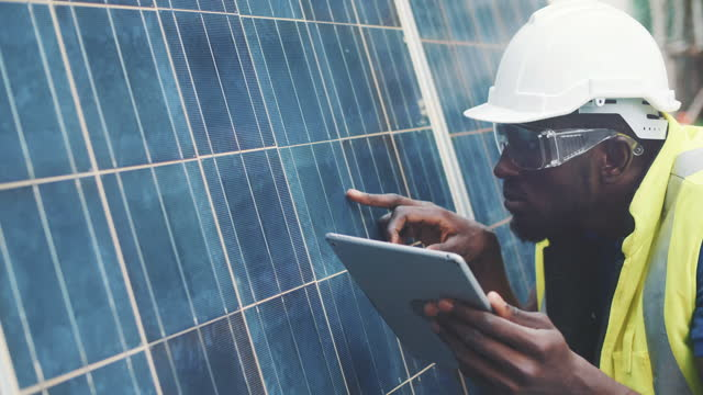 checking installation solar panel - energy efficient stock videos & royalty-free footage
