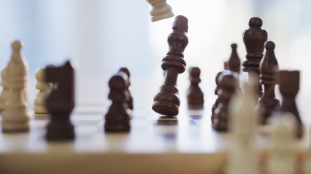 checkmate! - chess stock videos & royalty-free footage