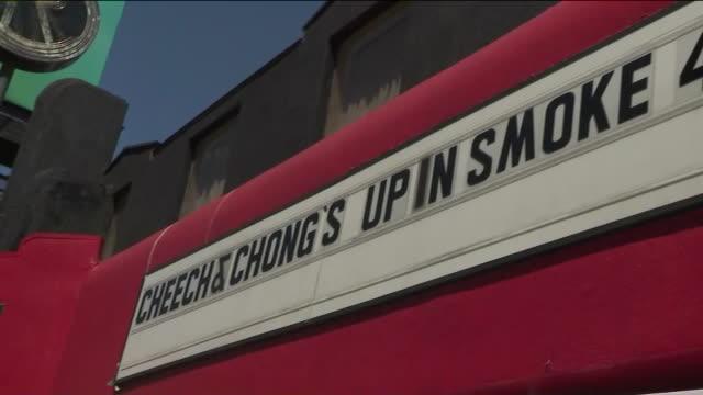 vídeos y material grabado en eventos de stock de ktla'cheech and chong day' declared in west hollywood - west hollywood