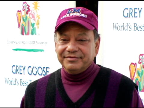 cheech marin at the elizabeth glaser pediatric aids foundation golf classic at riviera country club in pacific palisades california on october 17 2005 - elizabeth glaser stock videos & royalty-free footage