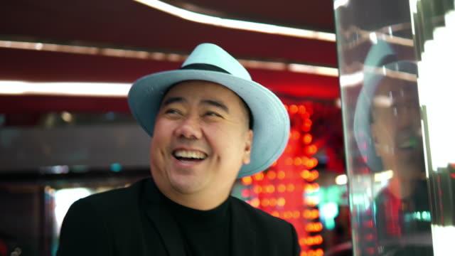 cheerful asian entrepreneur - fashionable stock videos & royalty-free footage