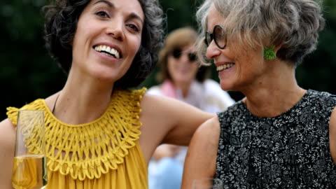 fröhliche freundinnen genießen champagner im boot - live ereignis stock-videos und b-roll-filmmaterial