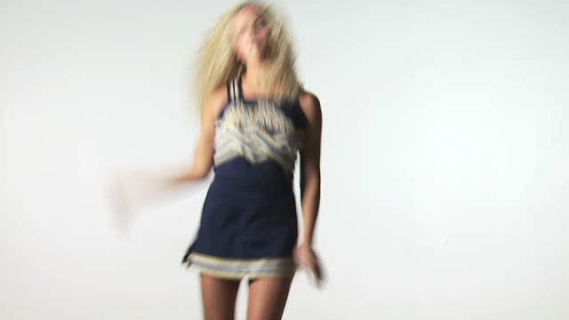 cheerleader dancing - see other clips from this shoot 1148 stock videos & royalty-free footage
