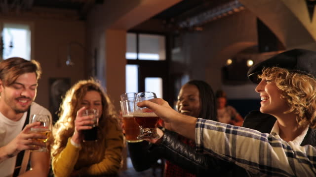 cheers to good life with friends - caucasian ethnicity stock videos & royalty-free footage