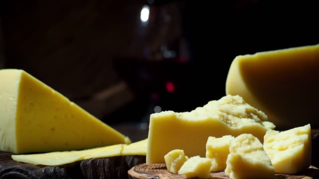 cheese and wine on the table - wine cask stock videos and b-roll footage