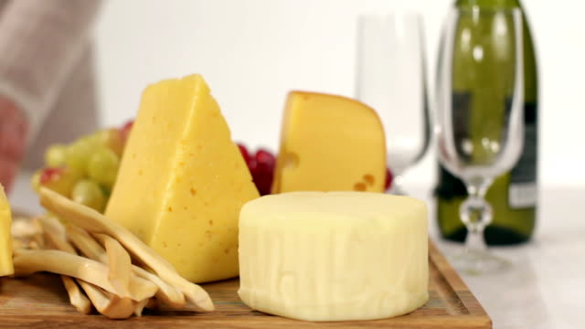 cheese dinner - cheese stock videos & royalty-free footage
