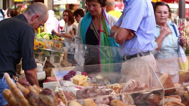 MS Cheese Market Stand on Naschmarkt in Vienna