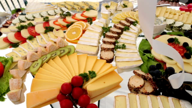 cheese panel - tray stock videos & royalty-free footage