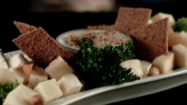 cheese plate - cracker stock videos and b-roll footage