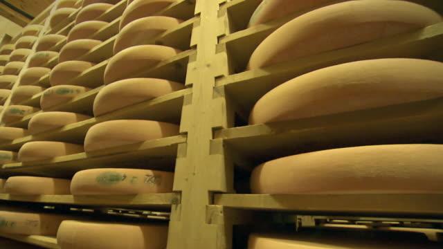 vidéos et rushes de cheese ripened - cheese