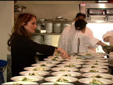 chef giada de laurentiis at the 2008 sundance film festival at bon appetit supper club in park city, utah on january 21, 2008. - park city stock videos & royalty-free footage