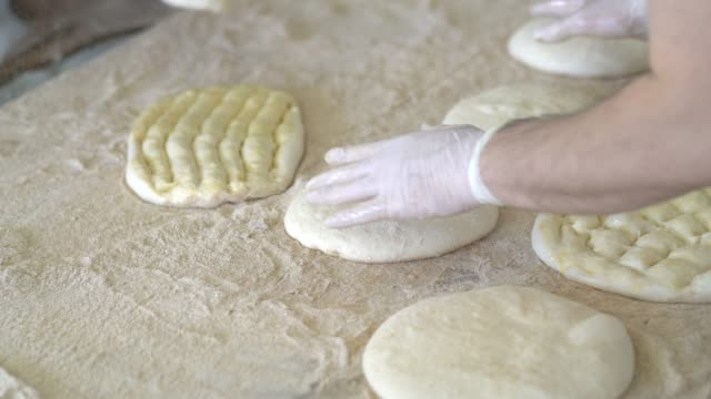 Chef prepare ramadan pita