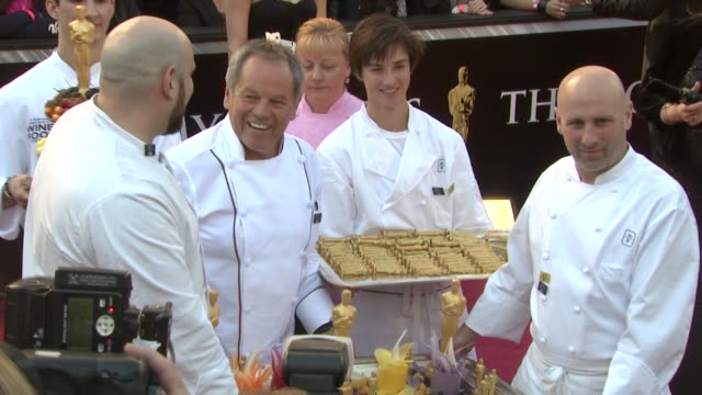 chef wolfgang puck at the 83rd annual academy awards - arrivals at hollywood ca. - wolfgang puck stock videos & royalty-free footage