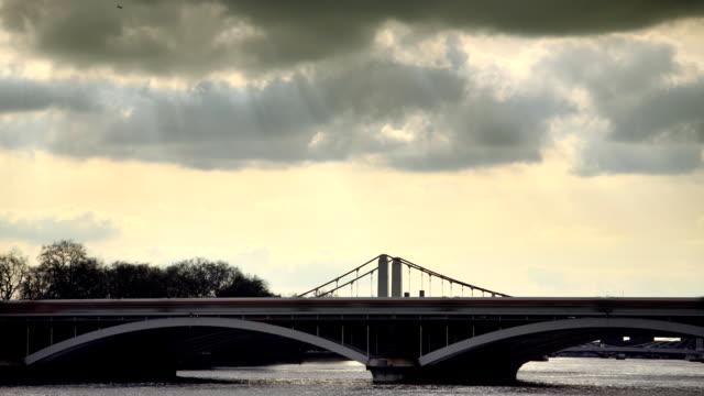 chelsea bridge - kensington and chelsea stock videos & royalty-free footage