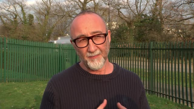 vidéos et rushes de chelsea condemn group of their fans for anti-semitic chanting during europa league match in hungary; england: london: ext ivor baddiel interview sot... - hongrie