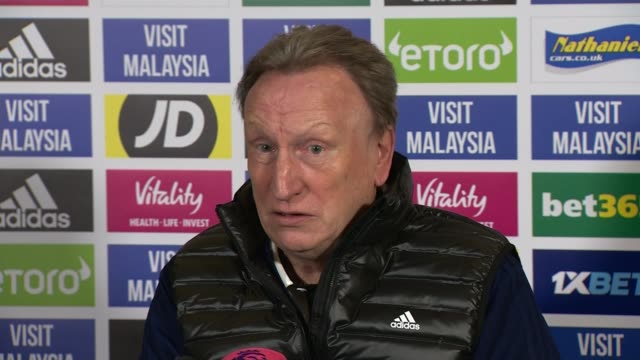 Chelsea condemn group of their fans for antiSemitic chanting during Europa League match in Hungary WALES Hensol Vale Resort INT Neil Warnock press...