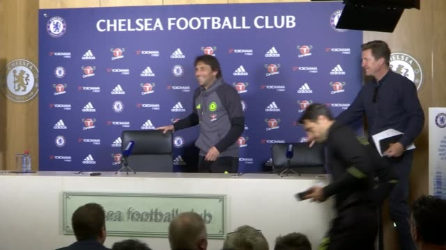 chelsea expected to take lead at top of premier league chelsea expected to take lead at top of premier league england surrey cobham int antonio conte... - cobham surrey stock videos and b-roll footage