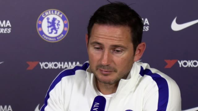 chelsea manager frank lampard says he's delighted for tammy abraham and fikayo tomori after they were named in the england squad adding the work has... - コブハム点の映像素材/bロール