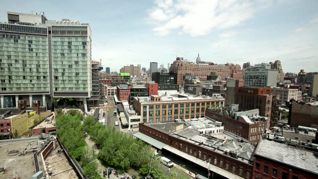 chelsea market / new york, united states - chelsea manhattan video stock e b–roll