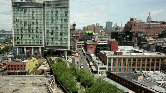 chelsea market / new york, united states - chelsea new york stock videos & royalty-free footage