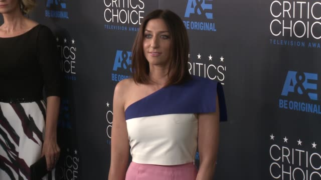 chelsea peretti at the 2015 critics' choice television awards at the beverly hilton hotel on may 31, 2015 in beverly hills, california. - 放送テレビ批評家協会賞点の映像素材/bロール